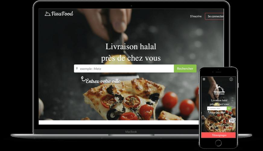 Commande en ligne -  multicommerces